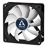 Arctic F9 Silent - Besonders leiser 92 mm Gehäuselüfter | Case Fan mit Standardgehäuse | nahezu lautlos | Push- Oder Pull Konfiguration möglich
