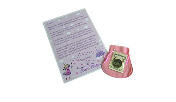 Busy Hands and Feet Personalised Mini Tooth Fairy Blue Bag Coin