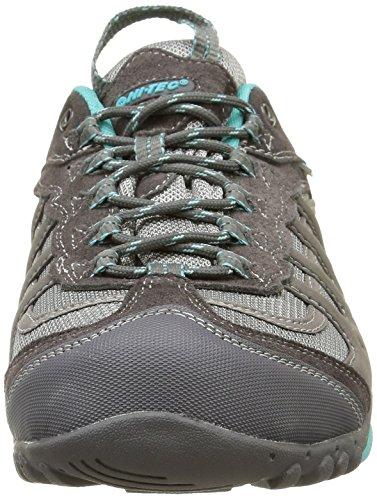 Hi-Tec Penrith Low Waterproof, Chaussures de Randonnée Basses Femme Grey