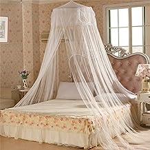 elegantes prinzessin netz bettnetz mit baldachin hngendes moskitonetz mit kuppel fr den sommer - Prinzessin Bett Baldachin Mit Lichtern