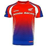 Honda Endurance Racing Alles über gedruckt T-shirt Offiziell 2017