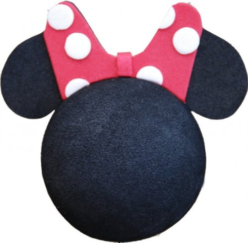 Image of Disney Minnie Bow Car Aerial Ball Antenna Topper