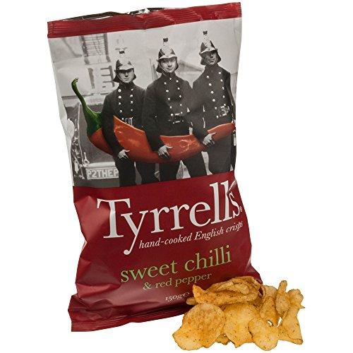 Tyrrells Sweet Chilli & Red Pepper Chips 150g
