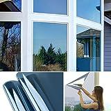 Hans-Shop 75cm x 300cm Transparent-blau