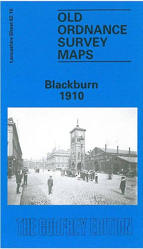 Blackburn 1910: Lancashire Sheet 62.16a (Old O.S. Maps of Lancashire)