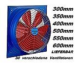 400 mm industriale parete ventilatore assiale finestra di raffreddamento Ventola da Muro Aspiratore elicoidale 40cm 230 Volt