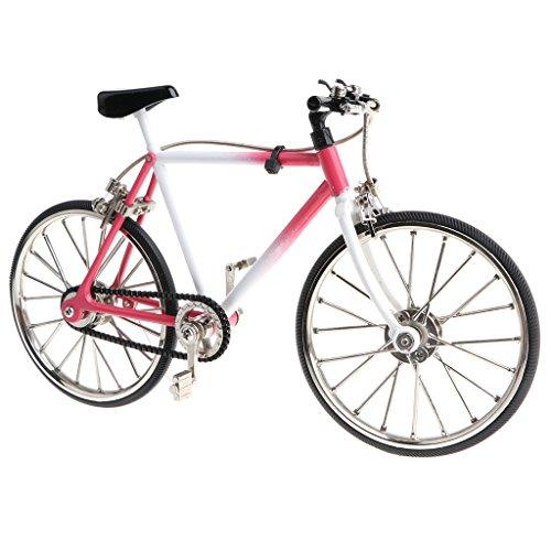 Homyl 1:10 Miniatur Diecast Fahrrad/Rennrad/Einrad/Bike Verkehrsmittel Modell für Tischdekoration, Sammlerstück, Geschenke - # 8