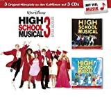 High School Musical 1 - 3: 3 Original - Hörspiele zu den Kultfilmen