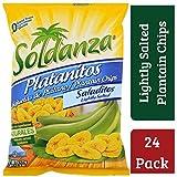 Soldanza, Plátano deshidratado - 24 de 83 gr. (Total: 2000 gr.)