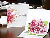 Papier Spiritz Upgrated Glorid Fleurs pop up carte d'anniversaire carte de remerciement pour femme Wife carte d'anniversaire de mariage Cartes carte de félicitations Miss You Love carte cadeau...