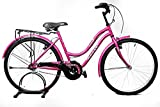 Kross Stella 26 Pink Steel Unisex Hybrid Cycle