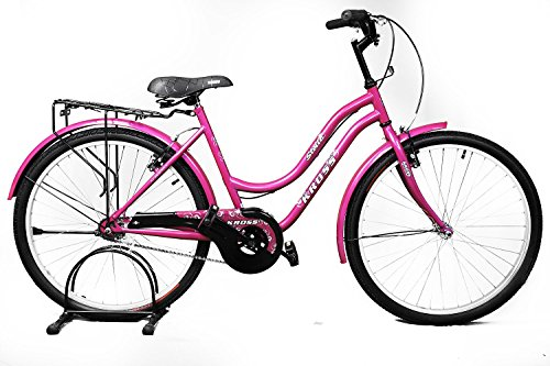 Kross Stella 26 Pink Steel Unisex Hybrid Cycle