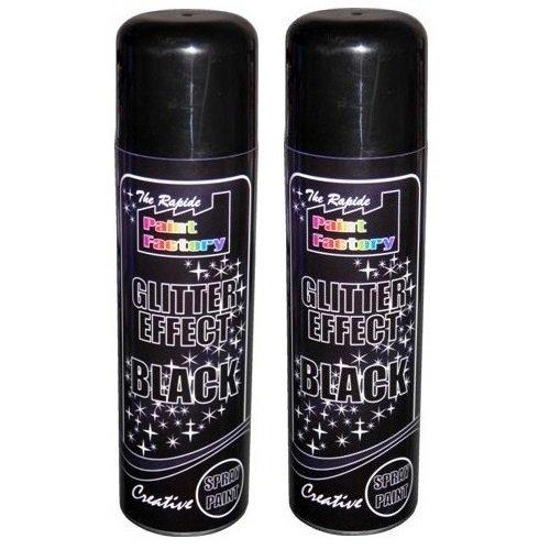crazygadgetr-glitter-effect-spray-paint-can-decorative-creative-crafts-art-diy-design-colour-2-black
