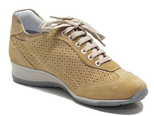 Sneakers Keys per donna in camoscio sabbia Sabbia