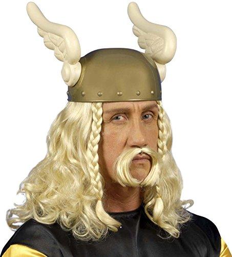 Unbekannt WidmannPE263Set mit Perücke und Schnurrbart, Gallier, - Hermes Kostüm
