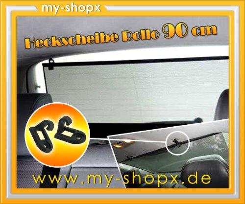 Auto Sonnenschutz Heck Rollo Sonnenrollo 90 cm Heckscheibe Sonnenschutzrollo