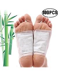 Parches de pie, Kapmore 100 piezas Parches de Almohadillas de pie Cuidado del dolor Cuidado