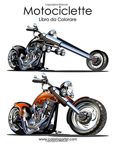 Motociclette Libro Da Colorare: 1