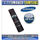 GBS Cod.01716- Télécommande universelle de remplacement rechange pour TV/LED/LCD/Plasma Samsung–Aucun code à insérer prêt à l'utilisation
