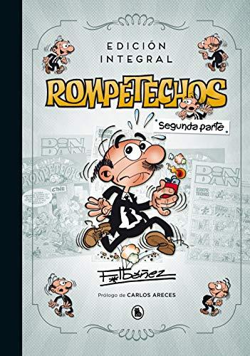 íSegunda parte de la edición integral de las aventuras de Rompetechos, el personaje favorito de Francisco Ibáñez! Este libro es el complemento imprescindible a la primera parte de la edición integral, de las aventuras de Rompetechos, ya que con él co...