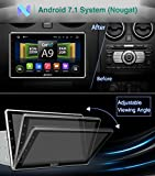 "Pumpkin 10.1"" Android 7.1 2GB 32GB Car GPS Bluetooth Radio Stereo with 1024*600 Adjustable Angle Support Fastboot, DAB+, WIFI, Phone Link, SWC, USB SD, Subwoofer, AV Output, 1080P Video, Cam-In"