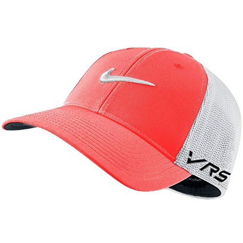 2014 Nike Tour Flex-Fit VRS RZN New Logo Mens Mens Golf Cap Lt Crimson/White (Shorts Mens Golf Tour)
