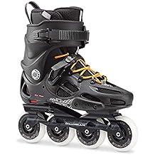 Rollerblade Twister 80Patines en línea, hombre, TWISTER 80, negro / naranja, 275