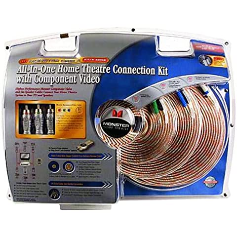 Monster Cable HTIB cv-kit home-theater-in-a-box connessione component video/audio surround