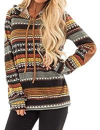 Damen Kapuzenpullover Fashion Vintage Aufdruck Longsleeve Classic  Kapuzensweater Casual Hoodie Bedruckte Langarm Patches Mit Kapuze Hemd b0d4da8eeb