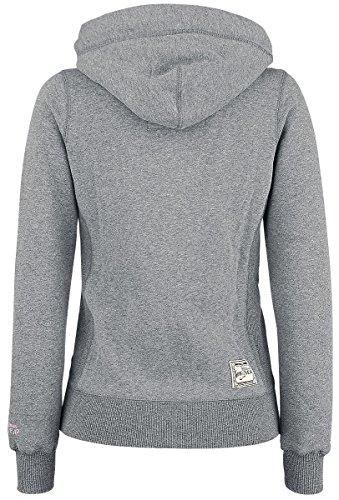 GoodYear Emporia Girl-Kapuzenjacke grau Grau