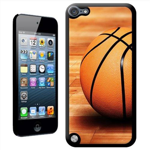 Fancy a snuggle 'sat il basket su campo in legno da pavimento' duro custodia cover posteriore per apple ipod touch 5th generation