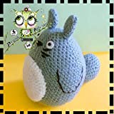 TOTORO AMIGURUMI PERSONALIZABLE ( Bebé, crochet, ganchillo, muñeco, peluche, niño, niña, lana, mujer, hombre ) MODA