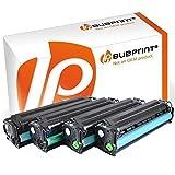 Bubprint 4 Toner kompatibel für HP CF210X CF211A CF212A CF213A 131A für Laserjet Pro 200 color M251N M251NW M276N M276NW Schwarz Cyan Gelb Magenta
