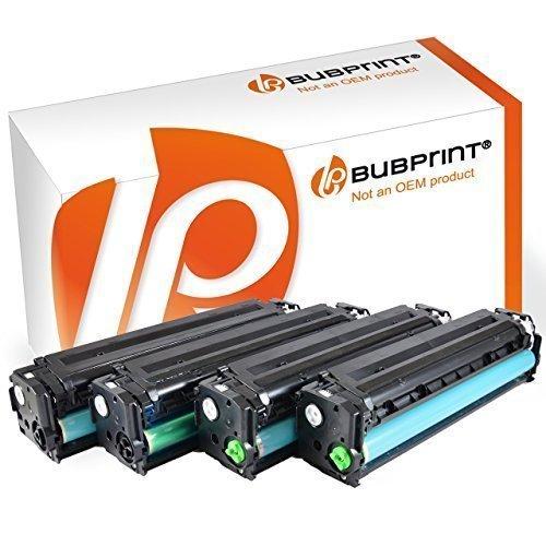 Bubprint 4 Toner kompatibel zu HP CF210X CF211A CF212A CF213A 131A 131X für Laserjet Pro 200 color M251n M251nw M276n M276nw Schwarz Cyan Gelb Magenta -