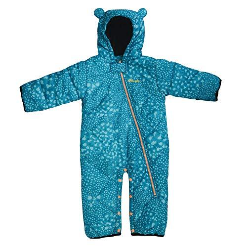 b888d0a5b Dare2B Break The Ice Breathable Full Zip Kids SnowSuit Salopettes, Sea  Breeze, Size 18