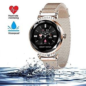 wetwgvsa Fitness Tracker Reloj Pulsera presión Sanguigna pulsómetro de muñeca Actividad Tracker Smartwatch H2 Monitor… 3