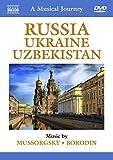 Mussorgsky/ Borodin: A Musical Journey - Russia/ Ukraine/ Uzbekistan (Slovak Philharmonic Orchestra/ Daniel Nazareth) (Naxos DVD Travelogue: 2110292) [UK Import] [Alemania]