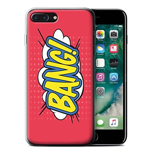 Coque Gel TPU de STUFF4 / Coque pour Apple iPhone 7 Plus / Pack 5pcs / Comics/Dessin Animé Mots Bang!