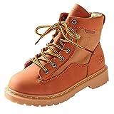 Bauycy Unisex-Kinder Boots Stiefel Winter Schneestiefel Warme Stiefeletten für Baby Mädchen Herbst...