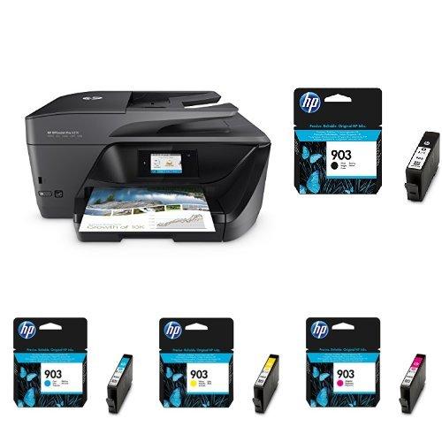 HP OfficeJet Pro 6970 All-in-One Tinten-Multifunktionsdrucker Schwarz  + HP 903 Multipack -