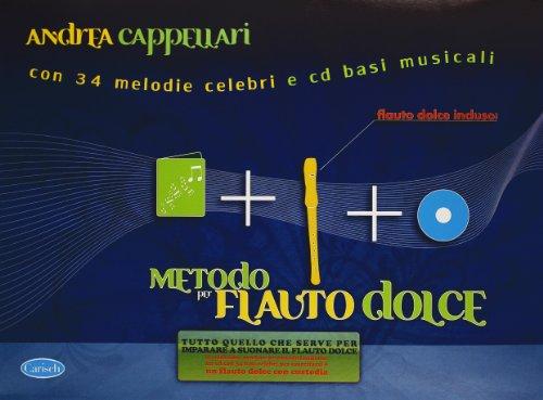 Metodo per flauto dolce. Con CD por Andrea Cappellari