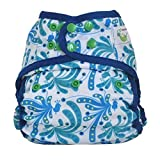 Sweet Pea One Size Cloth Diaper Cover (Plume)
