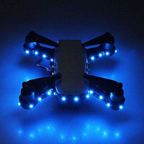 Xshuai Niedrigenergieverbrauch Licht Nacht Fliegende Dekorative Lampe Nacht Cruise Light Led-streifen Für DJI Funken (Leute Für Kleine Alte Kostüm Kinder)