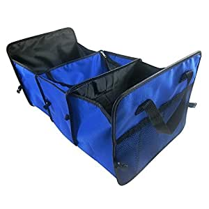 CAMTOA Auto Kofferraumtasche Kofferraumbox,3-in-1 Große Faltbox Einkaufstasche für Auto, SUV, Minivan, Truck Lagerung Kofferraum-Organizer