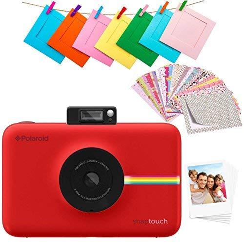1c59c6448e Polaroid Snap Touch 2.0 - Cámara digital portátil instantánea de 13 Mp,  Bluetooth, pantalla