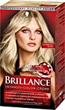Schwarzkopf Brillance Intensiv-Color-Creme 811 Scandinavia Blond Stufe 3, 3er Pack (3 x 143 ml)