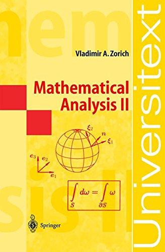 2: Mathematical Analysis II: v. 2 (Universitext)