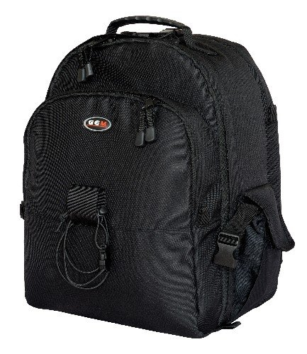 GEM - Custodia/zaino per fotocamera con copertura impermeabile e scomparto computer portatile, compatibile con Nikon D5000, D3100, D3000, D700, D300, D300S, D200, D90, D80, D60, D40, D40X Digital SLR e 4-6 obiettivi