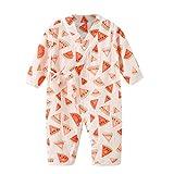 squarex ® Mädchengarn-Robe Blumenoverall Kleinkind-Kimono-Strampler Nachtwäsche-Overall Junge Legerer Strampler Bequemer Babyoverall