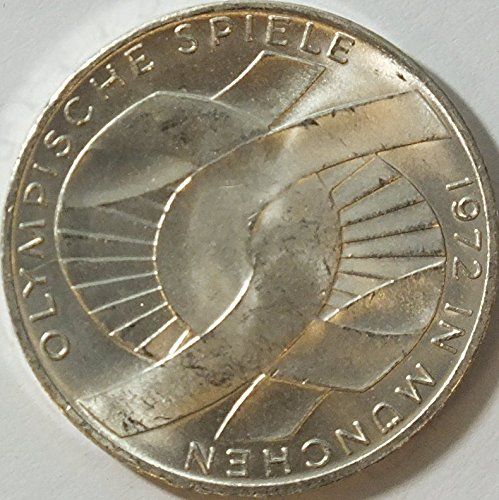FRD (FR.Germany) Jägernr: 402 1972 F extremely fine Silver 1972 10 DM Olympics Rings (Coins for collectors)